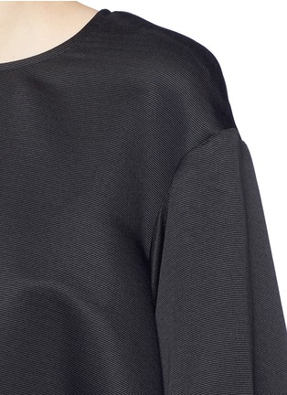 Detail View - Click To Enlarge - Ellery - 'Tarot' balloon sleeve satin ottoman blouse