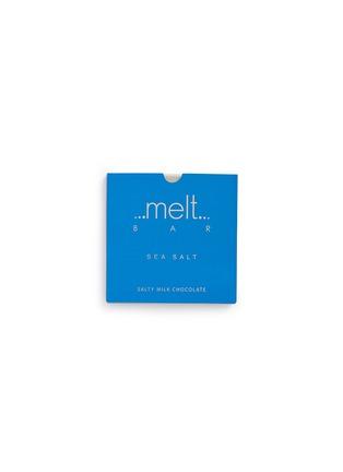 Main View - Click To Enlarge - Melt Chocolate - 'Sea Salt' milk chocolate bar