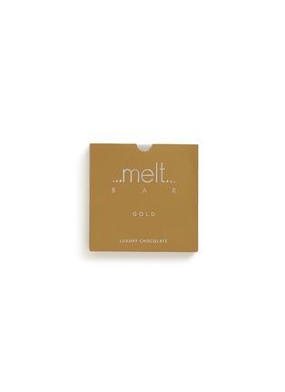 Main View - Click To Enlarge - Melt Chocolate - 'Gold' nutmeg milk chocolate bar