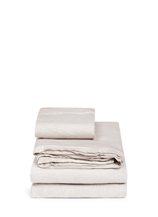 Main View - Click To Enlarge - mikmax - Castell twin size duvet set