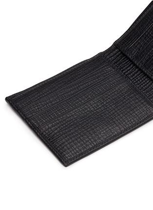 Detail View - Click To Enlarge - Dolce & Gabbana - Designer appliqué leather bifold wallet