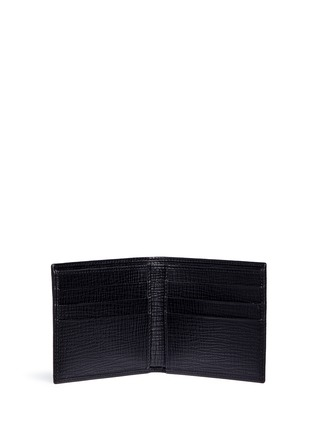 Figure View - Click To Enlarge - Dolce & Gabbana - Sicilian Man appliqué leather bifold wallet