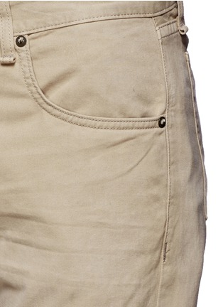 Detail View - Click To Enlarge - RAG & BONE - 'Fit 2' brushed cotton twill pants
