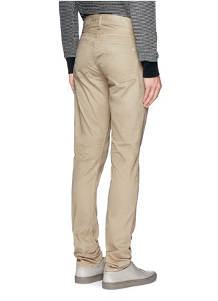 Back View - Click To Enlarge - RAG & BONE - 'Fit 2' brushed cotton twill pants