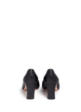 Back View - Click To Enlarge - Nicholas Kirkwood - 'Maeva' faux pearl heel leather pumps