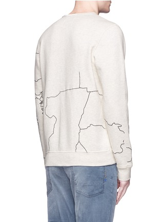Back View - Click To Enlarge - Scotch & Soda - Embroidered sweatshirt