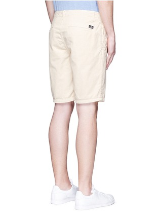 Back View - Click To Enlarge - Scotch & Soda - Garment dyed cotton shorts