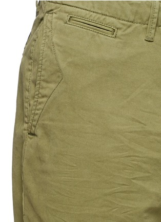 Detail View - Click To Enlarge - Scotch & Soda - Garment dyed cotton shorts