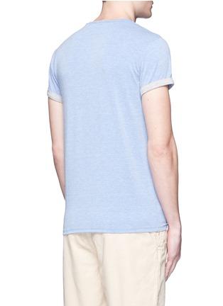 Back View - Click To Enlarge - Scotch & Soda - Logo print T-shirt