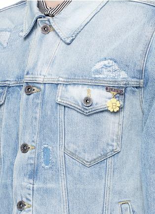 Detail View - Click To Enlarge - Scotch & Soda - Denim trucker jacket