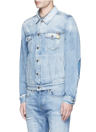 Front View - Click To Enlarge - Scotch & Soda - Denim trucker jacket