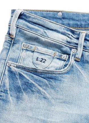 - Scotch & Soda - 'Lot 22 The Skim' bleach wash jeans