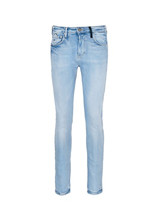 Main View - Click To Enlarge - Scotch & Soda - 'Lot 22 The Skim' bleach wash jeans