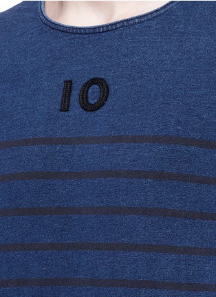 Detail View - Click To Enlarge - Scotch & Soda - Stripe T-shirt