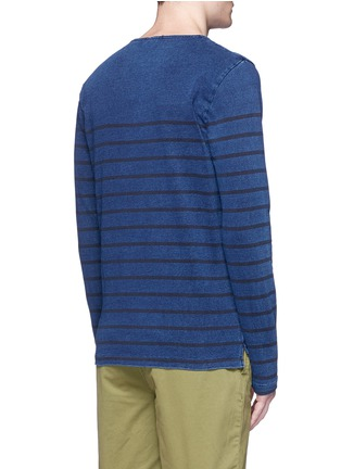 Back View - Click To Enlarge - Scotch & Soda - Stripe T-shirt
