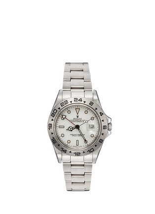 Main View - Click To Enlarge - LANE CRAWFORD VINTAGE COLLECTION - Vintage Rolex 16550 Explorer II Oyster Perpetual Date watch