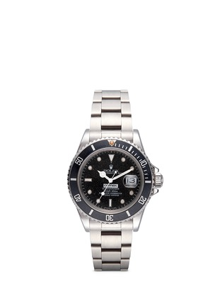 Main View - Click To Enlarge - LANE CRAWFORD VINTAGE COLLECTION - Vintage Rolex 168000 Submariner COMEX Oyster Perpetual watch