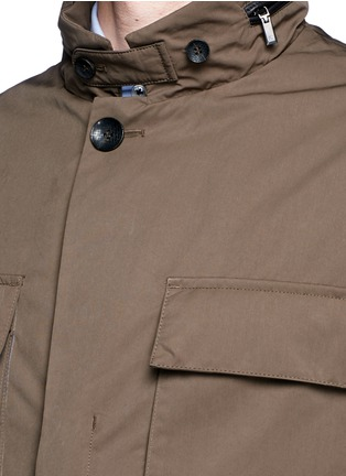 Detail View - Click To Enlarge - Canali - Padded water repellent jacket
