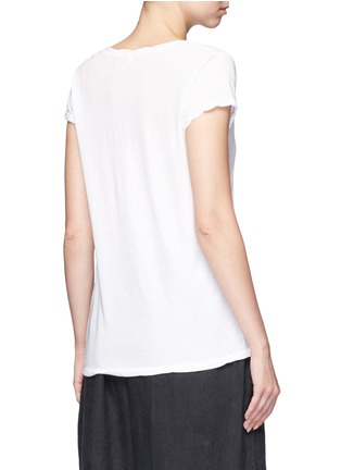 Back View - Click To Enlarge - James Perse - V-neck cotton jersey T-shirt