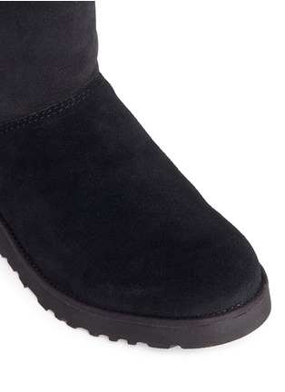 Detail View - Click To Enlarge - UGG - 'Amie' twinface sheepskin wedge boots