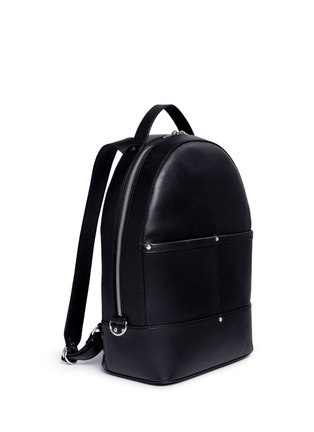 Front View - Click To Enlarge - Alexander Wang  - 'Mason' leather backpack