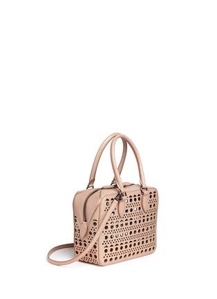 Figure View - Click To Enlarge - Alaïa - 'Vienne' lasercut leather crossbody bag