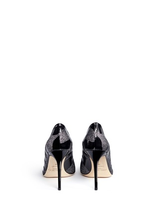 Back View - Click To Enlarge - Jimmy Choo - 'Abel' Camo Leo coated patent leather pumps