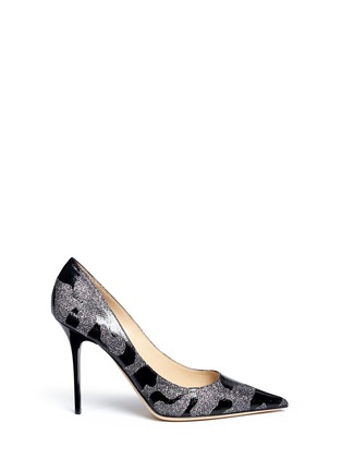 Main View - Click To Enlarge - Jimmy Choo - 'Abel' Camo Leo coated patent leather pumps