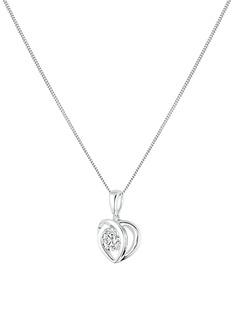 Lazare Kaplan 'Paramour' 18k white gold diamond pendant necklace