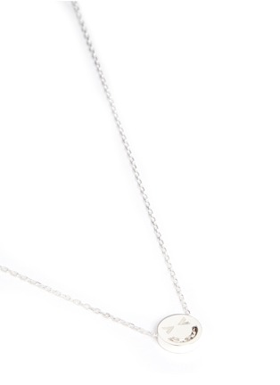 Figure View - Click To Enlarge - Ruifier - Merry' sterling silver pendant necklace
