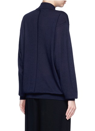 Back View - Click To Enlarge - The Row - 'Alen' cashmere-silk turtleneck sweater