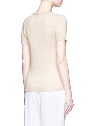 Back View - Click To Enlarge - THEORY - 'Tolleree' cashmere short sleeve sweater