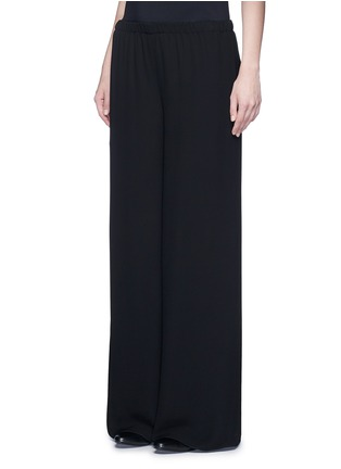 Front View - Click To Enlarge - The Row - 'Lene' wide leg crepe pants