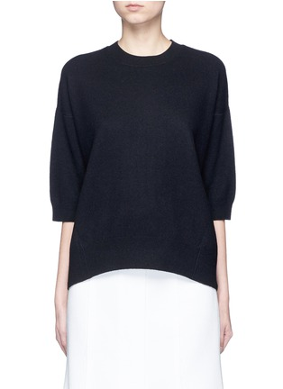 Main View - Click To Enlarge - VINCE - 3/4 sleeve cashmere sweater
