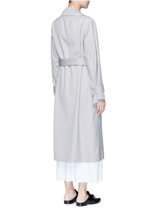 Back View - Click To Enlarge - The Row - 'Swells' belted gabardine coat