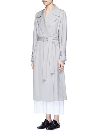 Front View - Click To Enlarge - The Row - 'Swells' belted gabardine coat
