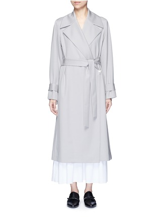 Main View - Click To Enlarge - The Row - 'Swells' belted gabardine coat