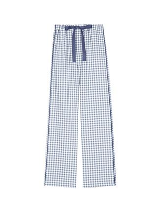 Main View - Click To Enlarge - Araks - 'Ally' gingham check organic cotton pyjama pants