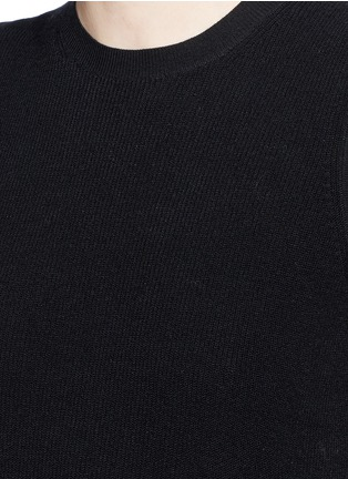 Detail View - Click To Enlarge - Theory - 'Mayanly' flare hem rib knit sleeveless top