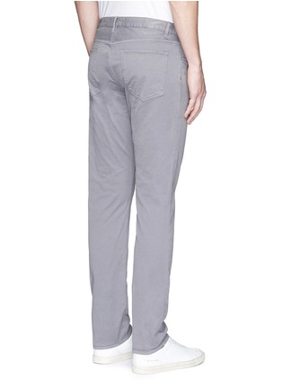 Back View - Click To Enlarge - Theory - 'Haydin Je N Z' slim straight cotton chinos