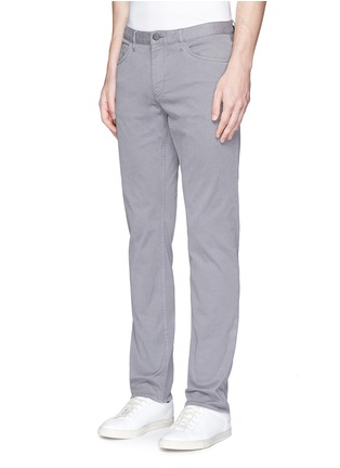 Front View - Click To Enlarge - Theory - 'Haydin Je N Z' slim straight cotton chinos
