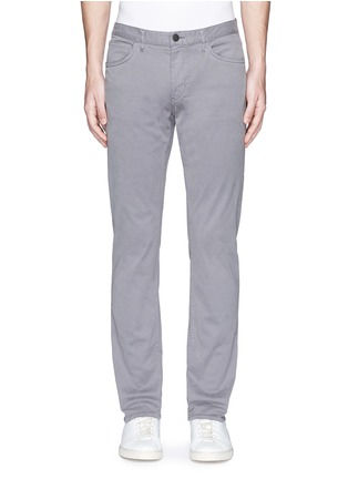Main View - Click To Enlarge - Theory - 'Haydin Je N Z' slim straight cotton chinos