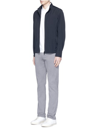 Figure View - Click To Enlarge - Theory - 'Haydin Je N Z' slim straight cotton chinos