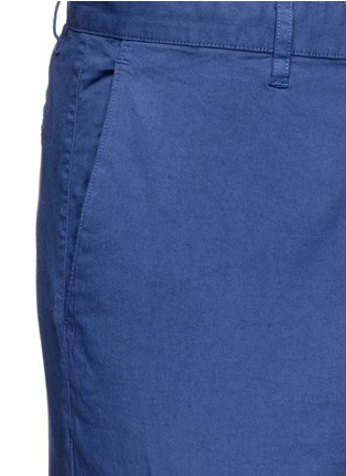 Detail View - Click To Enlarge - THEORY - 'Zaine S' garment dyed slim fit shorts