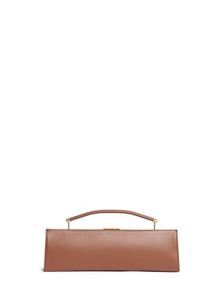 Main View - Click To Enlarge - Marni - 'Sailor' top handle long leather clutch