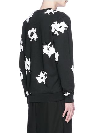 Back View - Click To Enlarge - McQ Alexander McQueen - Floral print sweatshirt
