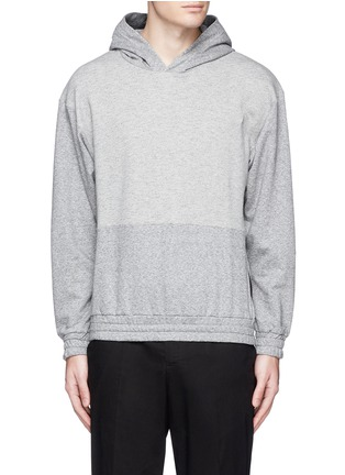 Main View - Click To Enlarge - McQ Alexander McQueen - Tape print oversize hoodie