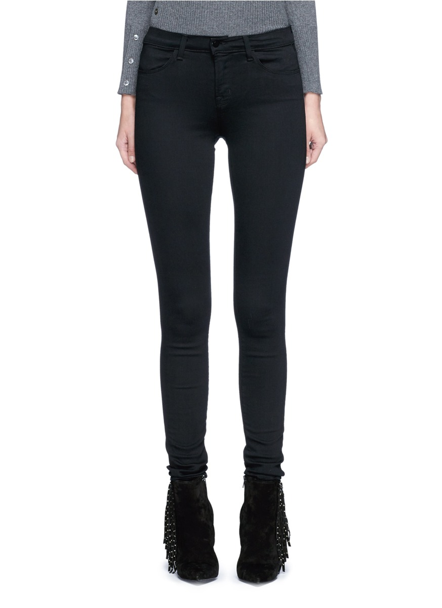 Buy J Brand Jeans 'Seriously Black Super Skinny' jeans