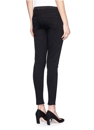 Back View - Click To Enlarge - J BRAND - 'Capri' mid rise cropped skinny jeans