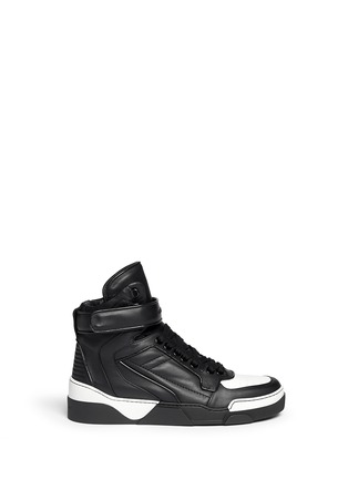 Main View - Click To Enlarge - Givenchy - 'Tyson' calf leather sneakers